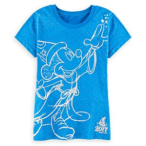Sorcerer Mickey Mouse Tee for Women – Walt Disney World 2017