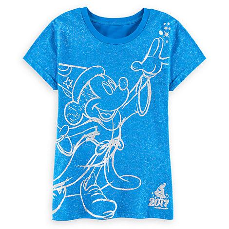 Sorcerer Mickey Mouse Tee for Women - Walt Disney World 2017