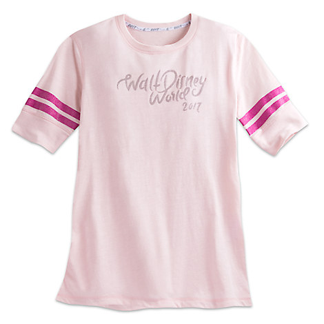 Walt Disney World 2017 Football Top for Women
