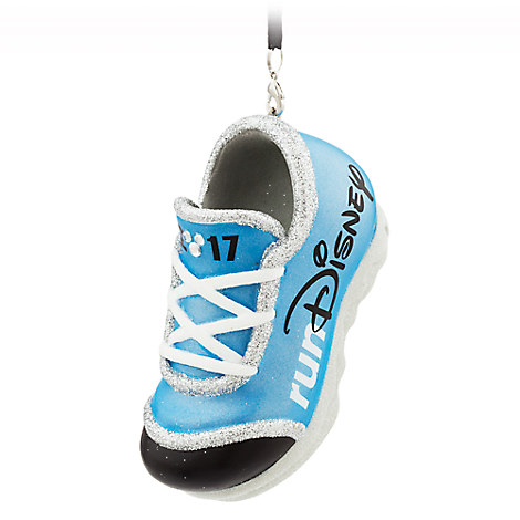 runDisney Sneaker Ornament 2017