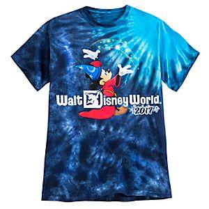 Sorcerer Mickey Mouse Tie-Dye Tee for Men – Walt Disney World 2017