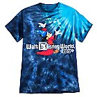 Sorcerer Mickey Mouse Tie-Dye Tee for Men - Walt Disney World 2017