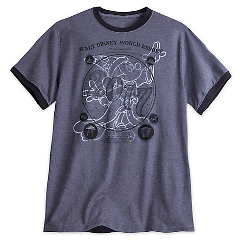 Sorcerer Mickey Mouse Ringer Tee for Adults - Walt Disney World 2017