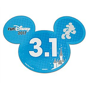 Mickey Mouse runDisney 2017 Magnet – 3.1