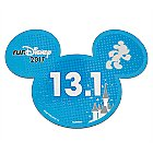 Mickey Mouse runDisney 2017 Magnet - 13.1