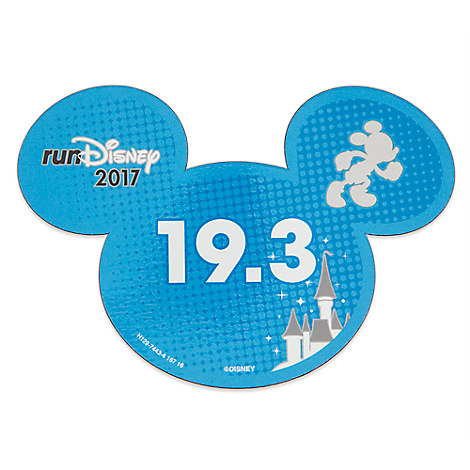 Mickey Mouse runDisney 2017 Magnet - 19.3
