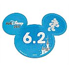 Mickey Mouse runDisney 2017 Magnet - 6.2