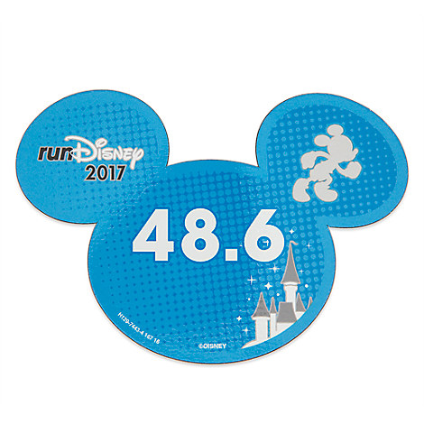 Mickey Mouse runDisney 2017 Magnet - 48.6