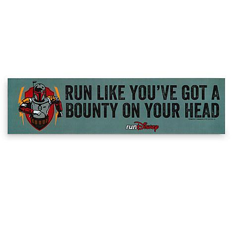Boba Fett runDisney Auto Magnet - Star Wars