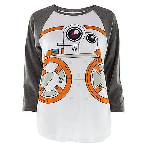 BB-8 Raglan Baseball Tee for Women - Star Wars: The Force Awakens