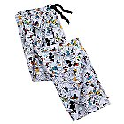 Mickey Mouse and Friends Comic Strip Lounge Pants for Men