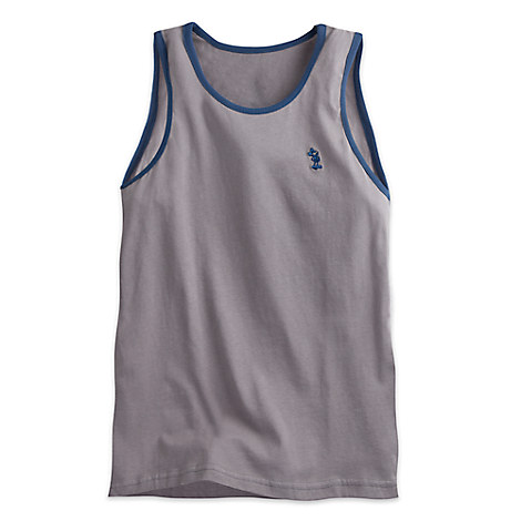 Mickey Mouse Tank Top for Men - Gray