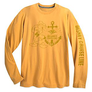 Donald Duck Long Sleeve Tee for Adults – Disney Cruise Line 2017