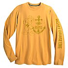 Donald Duck Long Sleeve Tee for Adults - Disney Cruise Line 2017