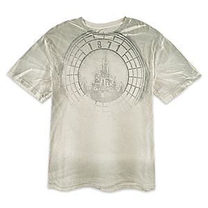 Cinderella Castle Tee for Men - Walt Disney World