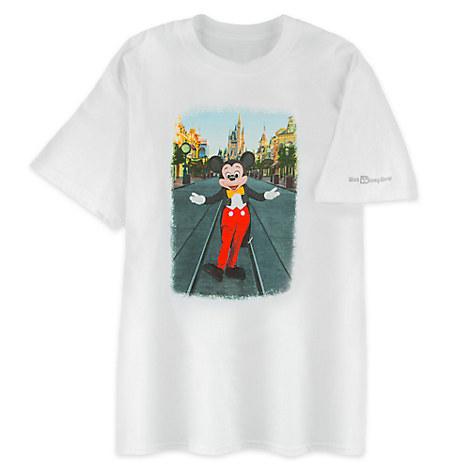 Mickey Mouse Photo Tee for Men - Walt Disney World