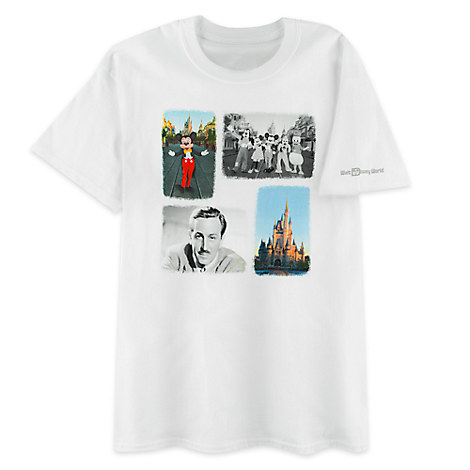 Mickey Mouse and Friends Photo Collage Tee for Men - Walt Disney World