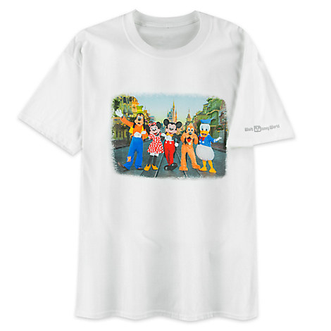 Mickey Mouse and Friends Photo Tee for Men - Walt Disney World