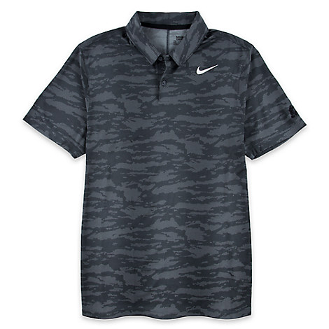 Mickey Mouse Camouflage Polo Shirt for Men by Nike Golf - Black