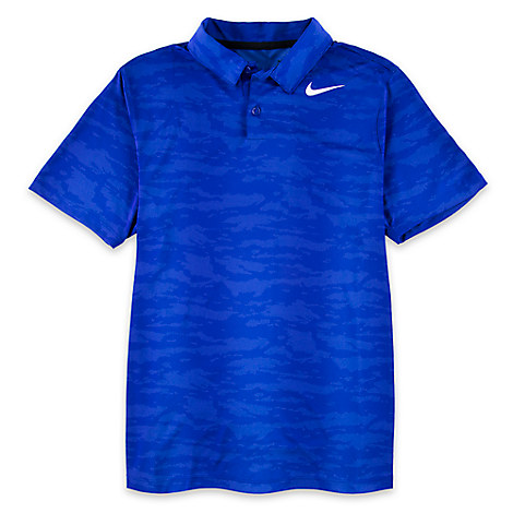 Mickey Mouse Camouflage Polo Shirt for Men by NikeGolf - Blue