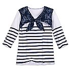 Minnie Mouse Bow Nautical Fashion Top for Women by Disney Boutique