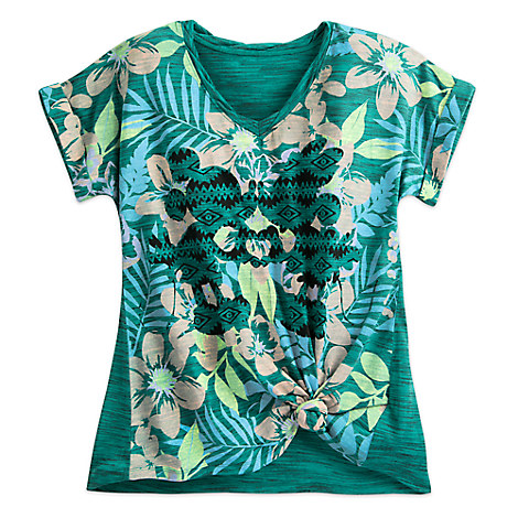 Mickey and Minnie Mouse Tropical Top for Women by Disney Boutique