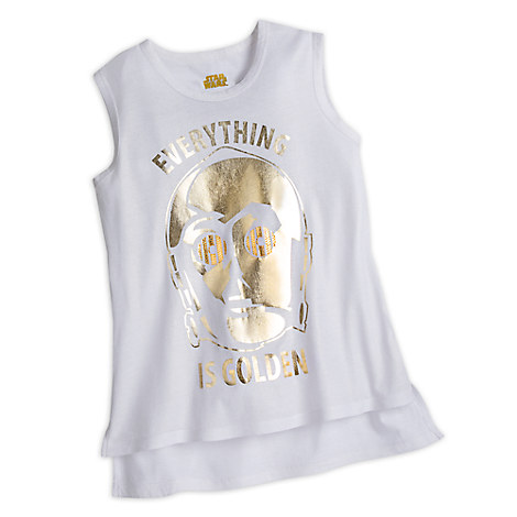 C-3PO Tank Top for Women by Star Wars Boutique