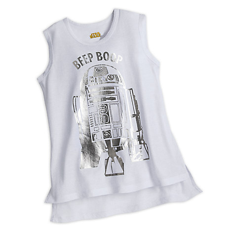 R2-D2 Tank Top for Women by Star Wars Boutique