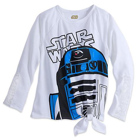 R2-D2 Long Sleeve Tee for Women - Star Wars