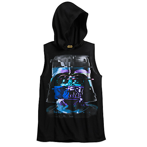 Darth Vader Hooded Tank Top for Women - Star Wars