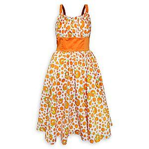 Orange Bird Dress - Women