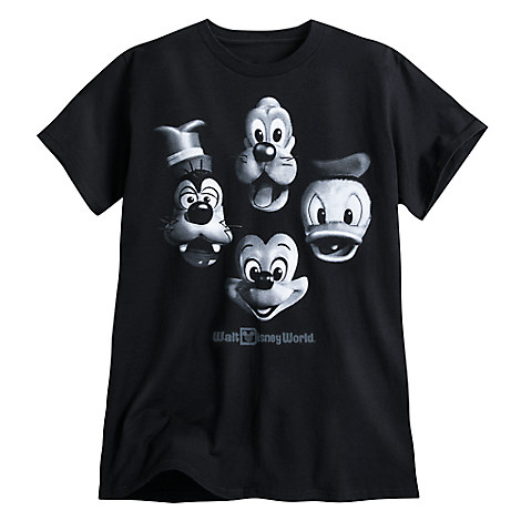 Mickey Mouse and Friends ''Fab Four'' Tee for Adults - Walt Disney World