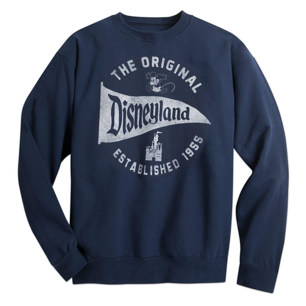 Disneyland Pennant Sweatshirt for Adults – Navy