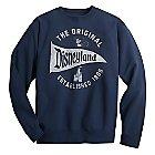 Disneyland Pennant Sweatshirt for Adults - Navy