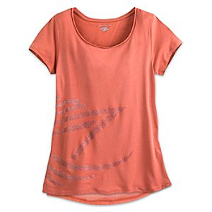 Disney Cruise Line Tee for Women - Coral