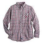Disney Cruise Line Long Sleeve Woven Shirt for Men - Plaid