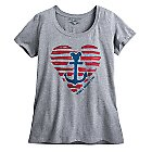 Disney Cruise Line Heathered Tee for Women