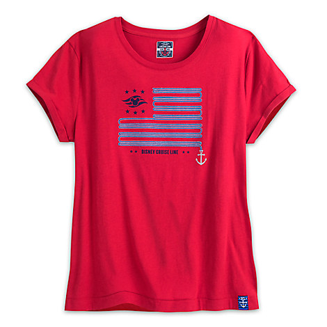 Disney Cruise Line Americana Tee for Women