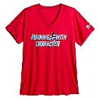 Mickey Mouse runDisney Performance Tee for Women - Red