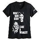 Han Solo and Chewbacca runDisney Performance Tee for Women