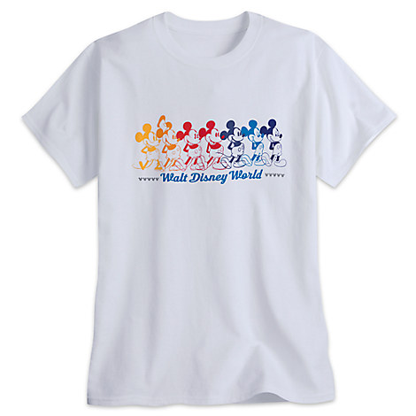 Mickey Mouse Tee for Adults - Walt Disney World - Rainbow