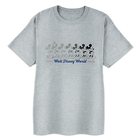 Mickey Mouse Tee for Adults - Walt Disney World - Gray