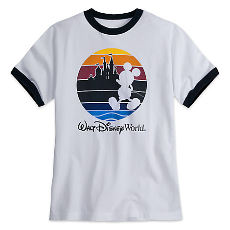 Mickey Mouse Silhouette Tee for Adults - Walt Disney World - Ringer