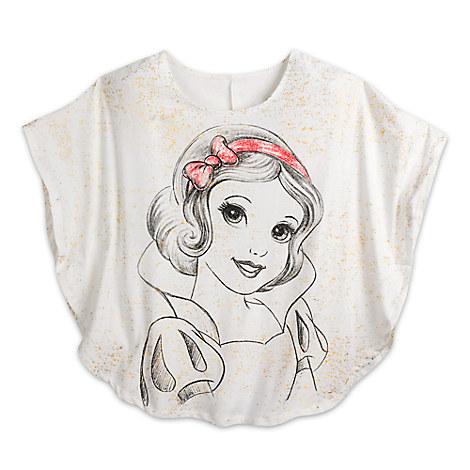 Snow White Poncho Tee for Women