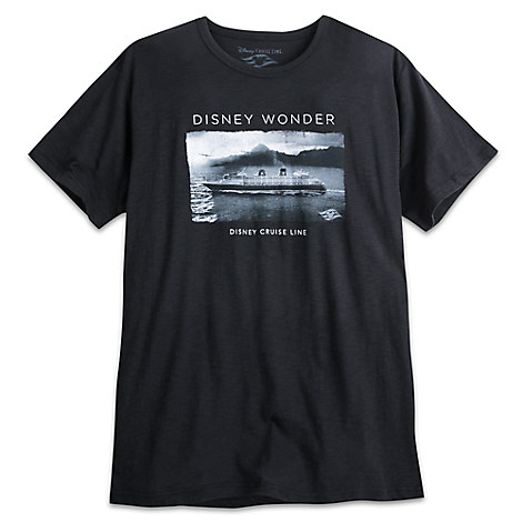 Disney Wonder Tee for Men - Disney Cruise Line