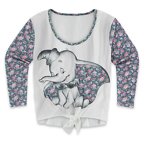 Dumbo Floral Top for Women by Disney Boutique