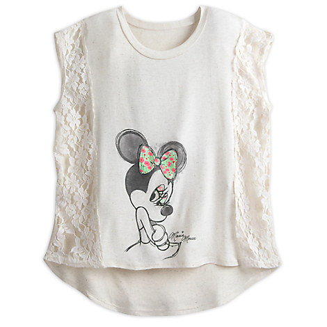 Minnie Mouse Lace Top for Women by Disney Boutique