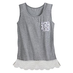 Mouse Icon Pocket Tank Tee for Women by Disney Boutique