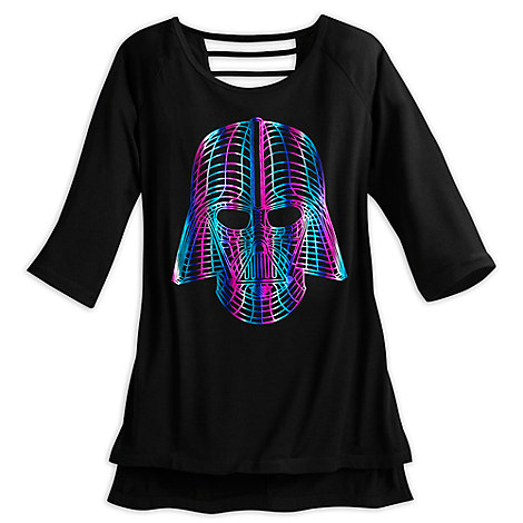 Darth Vader Rainbow Fashion Top for Women by Star Wars Boutique