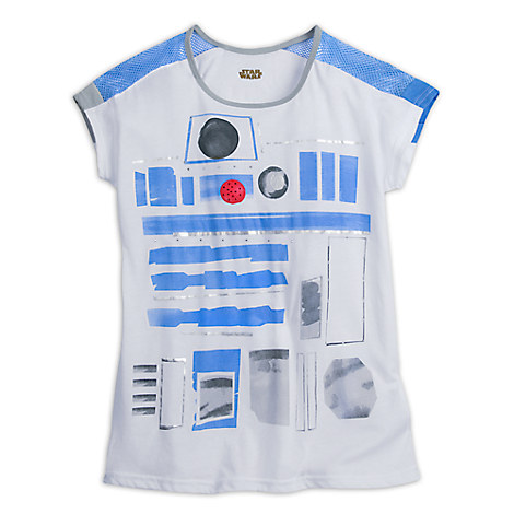 R2-D2 Costume Fashion Tee for Women by Star Wars Boutique